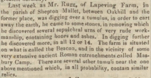 Bath Chronicle 5th Nov 1840